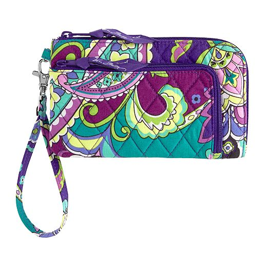 Zip Zip Wristlet in Heather