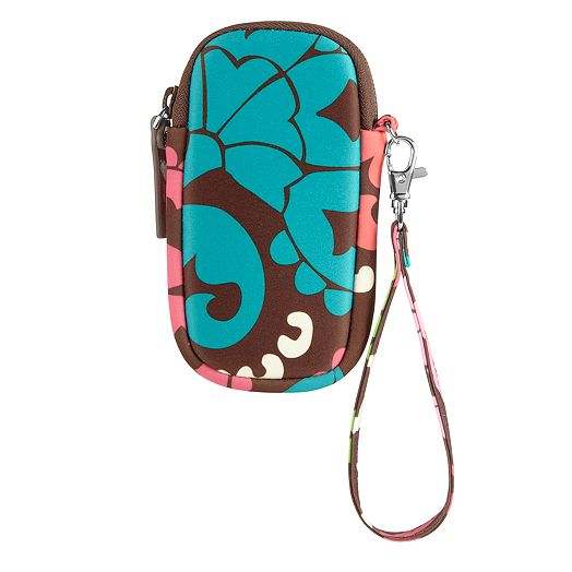 Neoprene Tech Wristlet in Lola