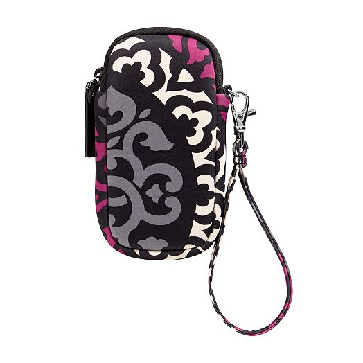 Neoprene Tech Wristlet in Canterberry Magenta