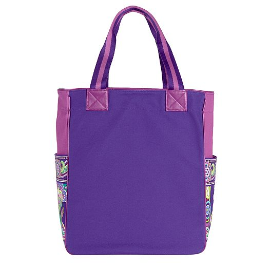 Large Colorblock Tote in Heather