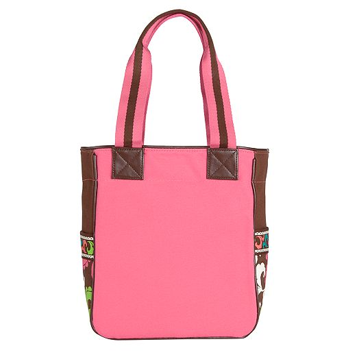 Small Colorblock Tote in Lola