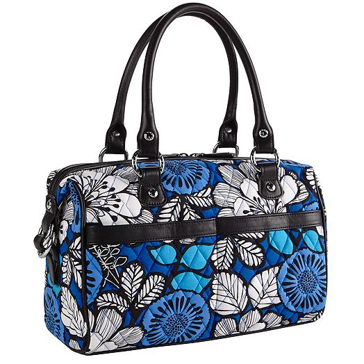Mini Loft Duffel in Blue Bayou with Black Trim