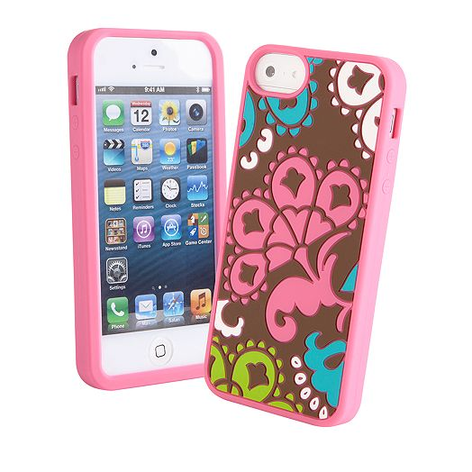 Soft Frame Case for iPhone 5 in Lola