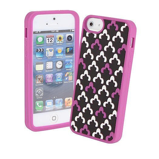 Soft Frame Case for iPhone 5 in Canterberry Magenta