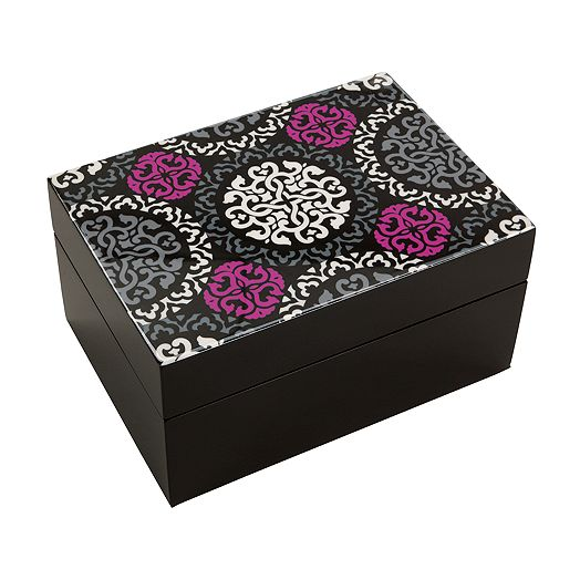 Jewelry Box in Canterberry Magenta