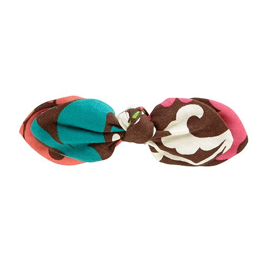 Bow Barrette in Lola