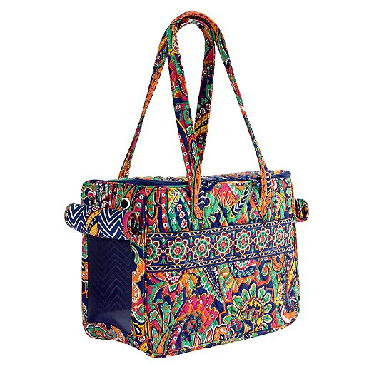 Pet Carrier in Venetian Paisley