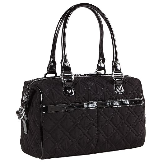 Mini Loft Duffel in Vera Vera with Black Trim