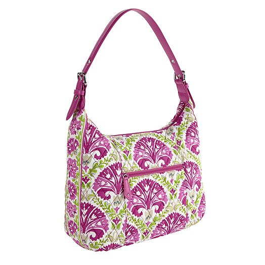 Elit Hobo in Julep Tulip with Plum Trim