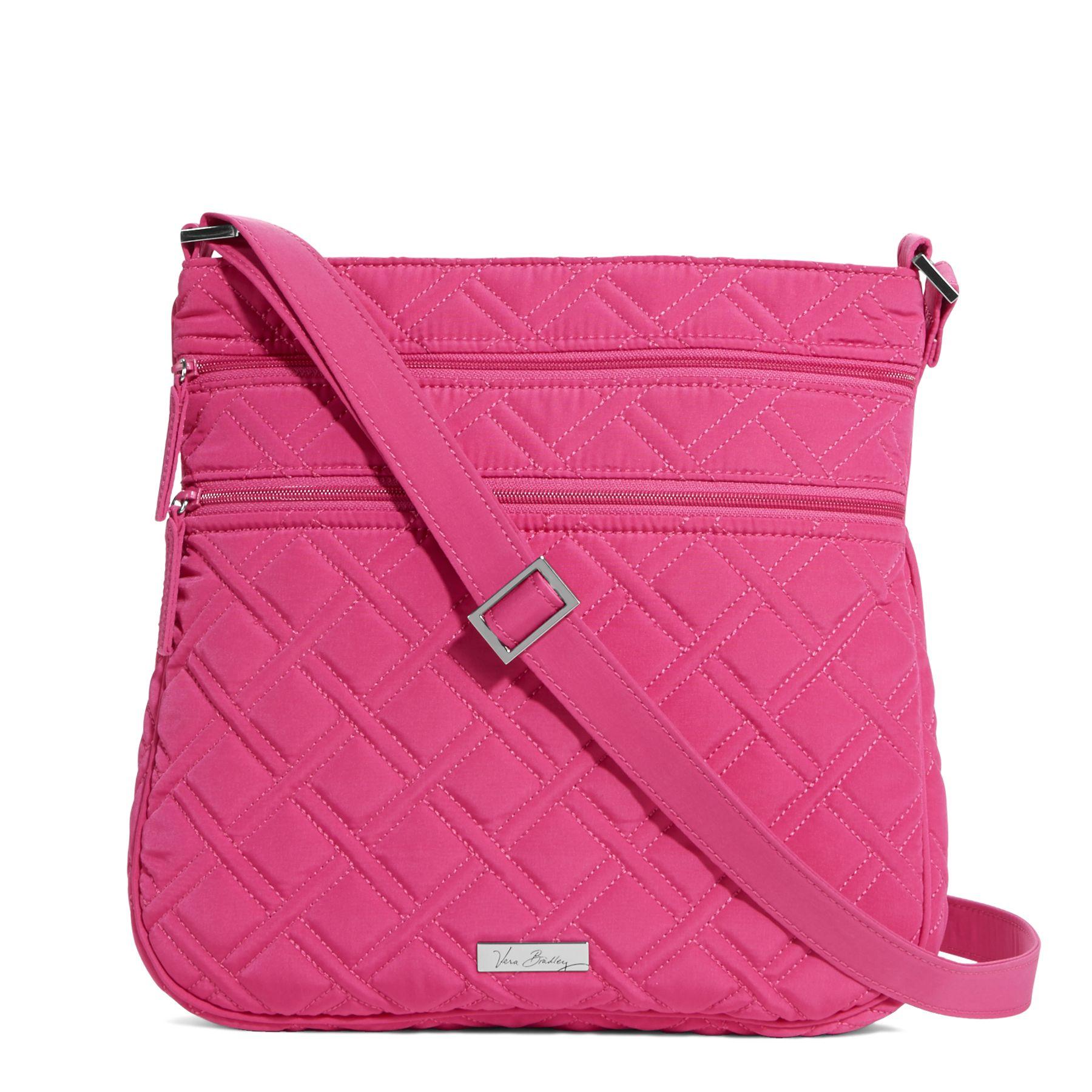 Vera Bradley Triple Zip Hipster Crossbody Bag (Multiple Colors)