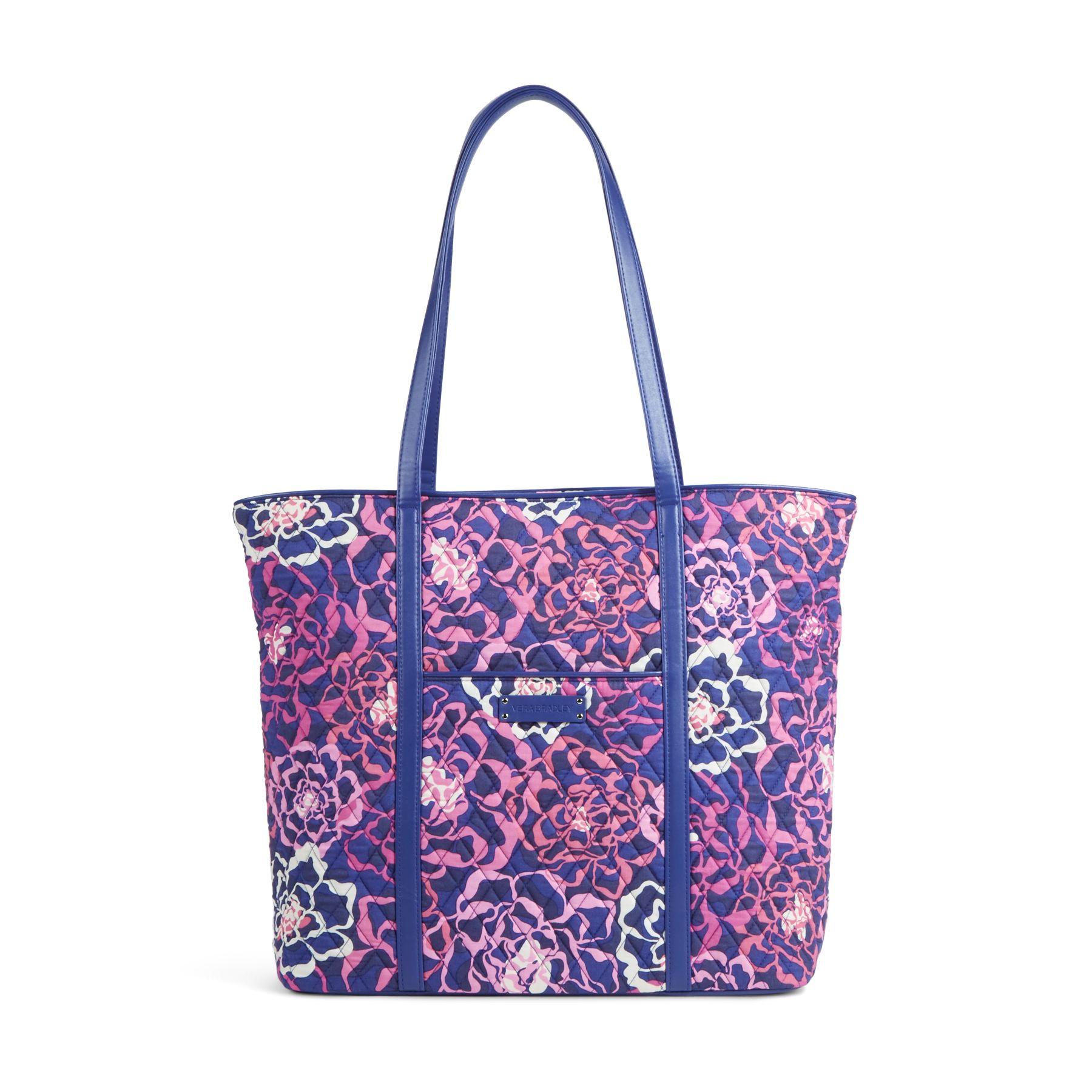 Vera Bradley Trimmed Vera Tote Bag (Multiple Colors)