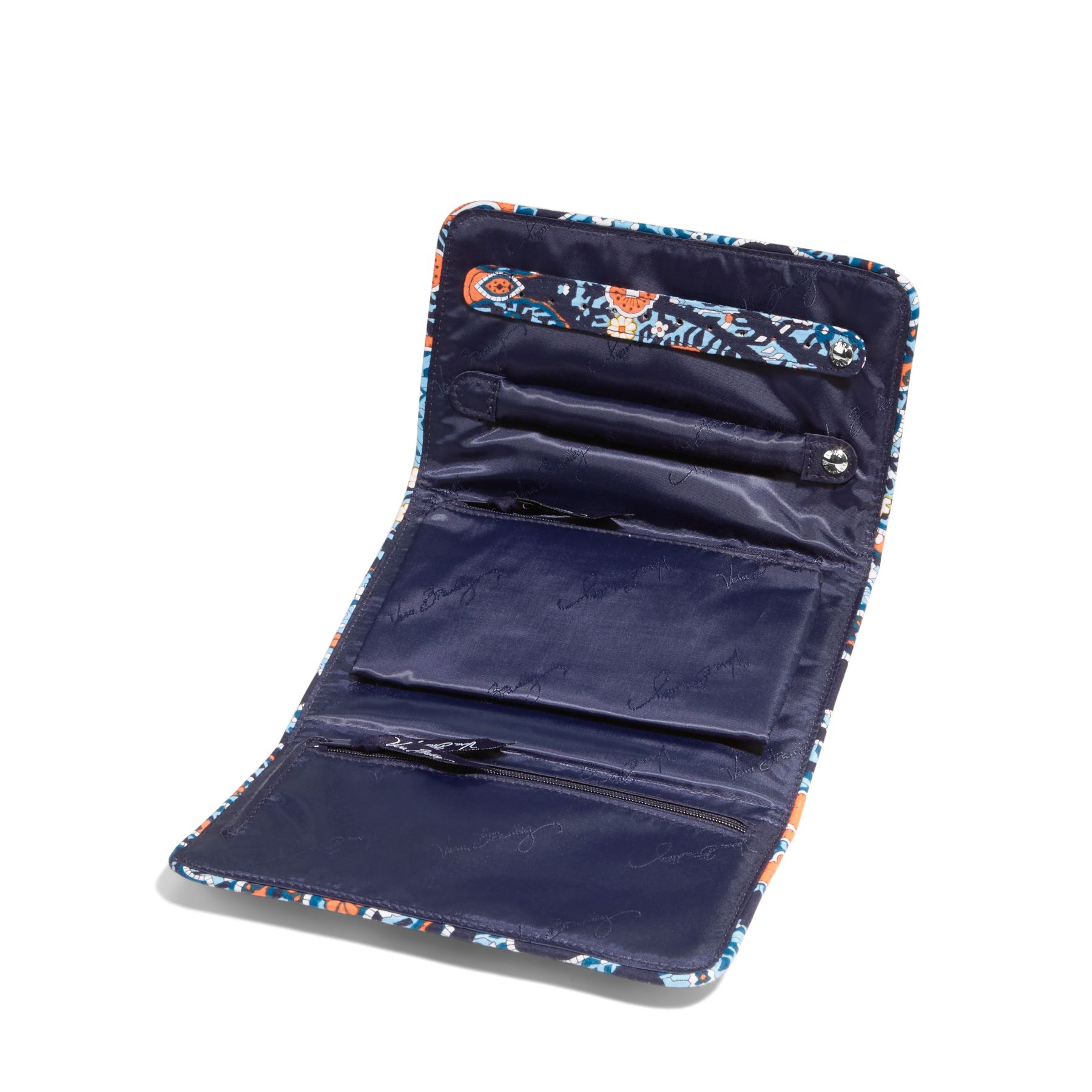 vera bradley all wrapped up jewelry roll martlocal