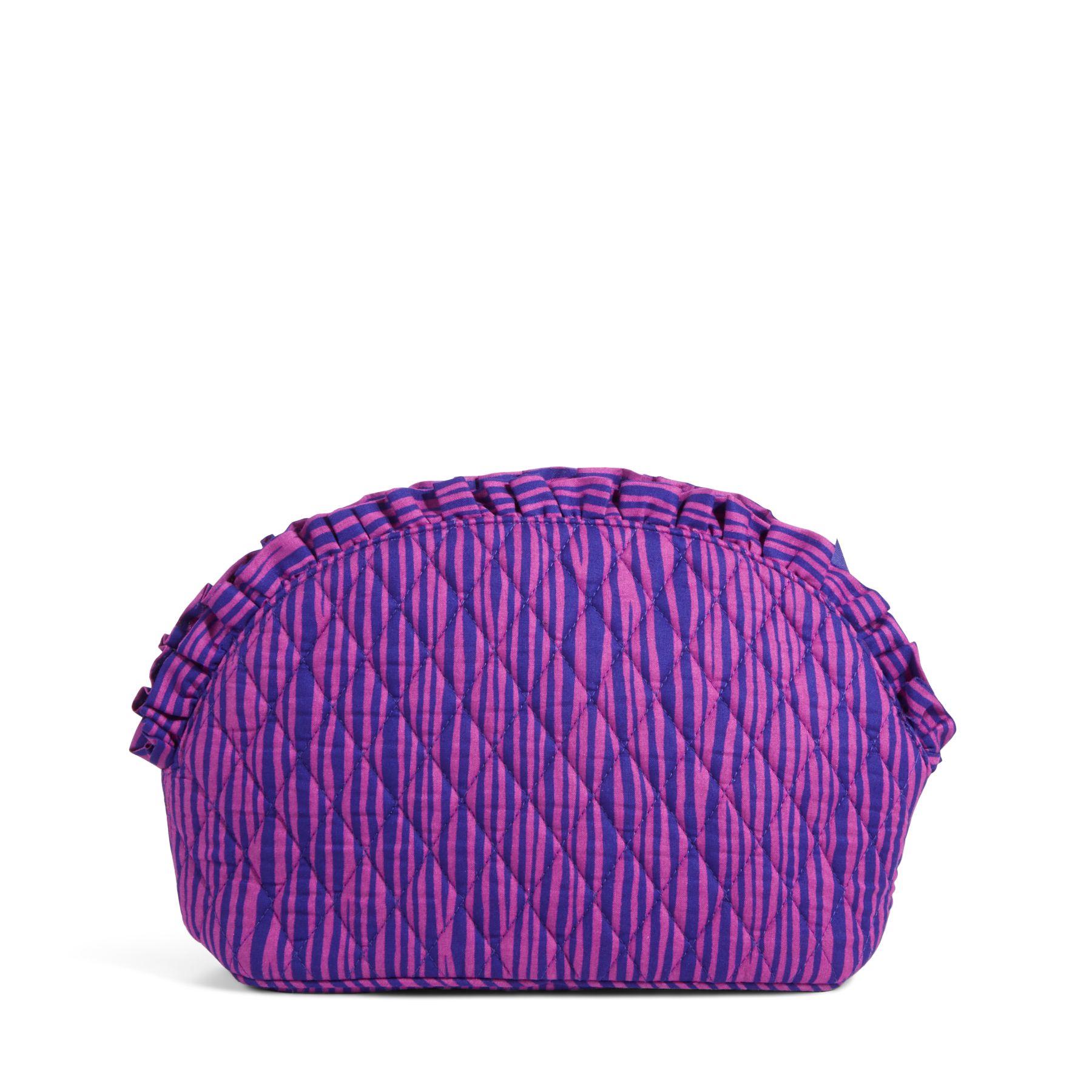vera bradley large ruffle cosmetic bag ebay