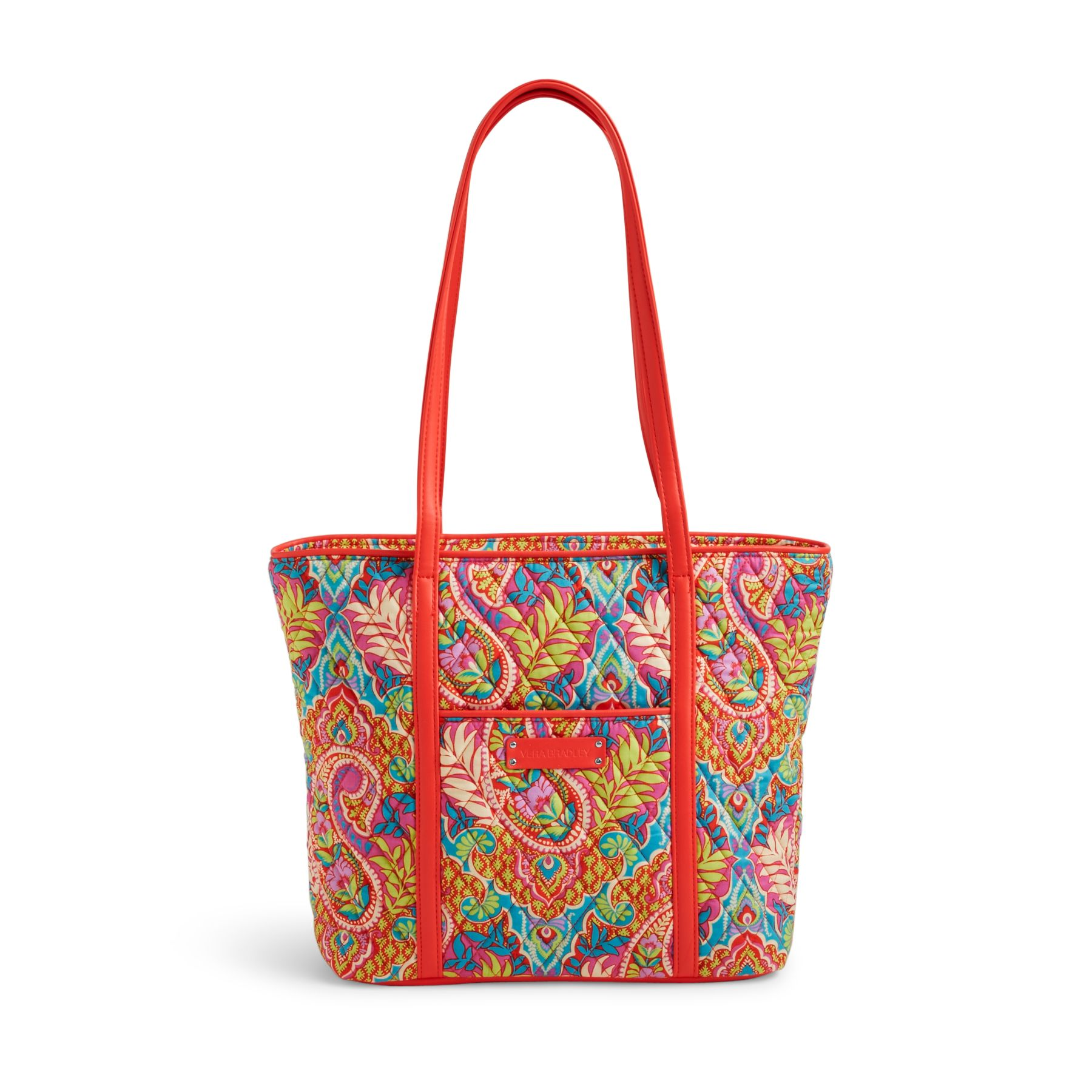 Vera Bradley Small Trimmed Vera Tote Bag | eBay