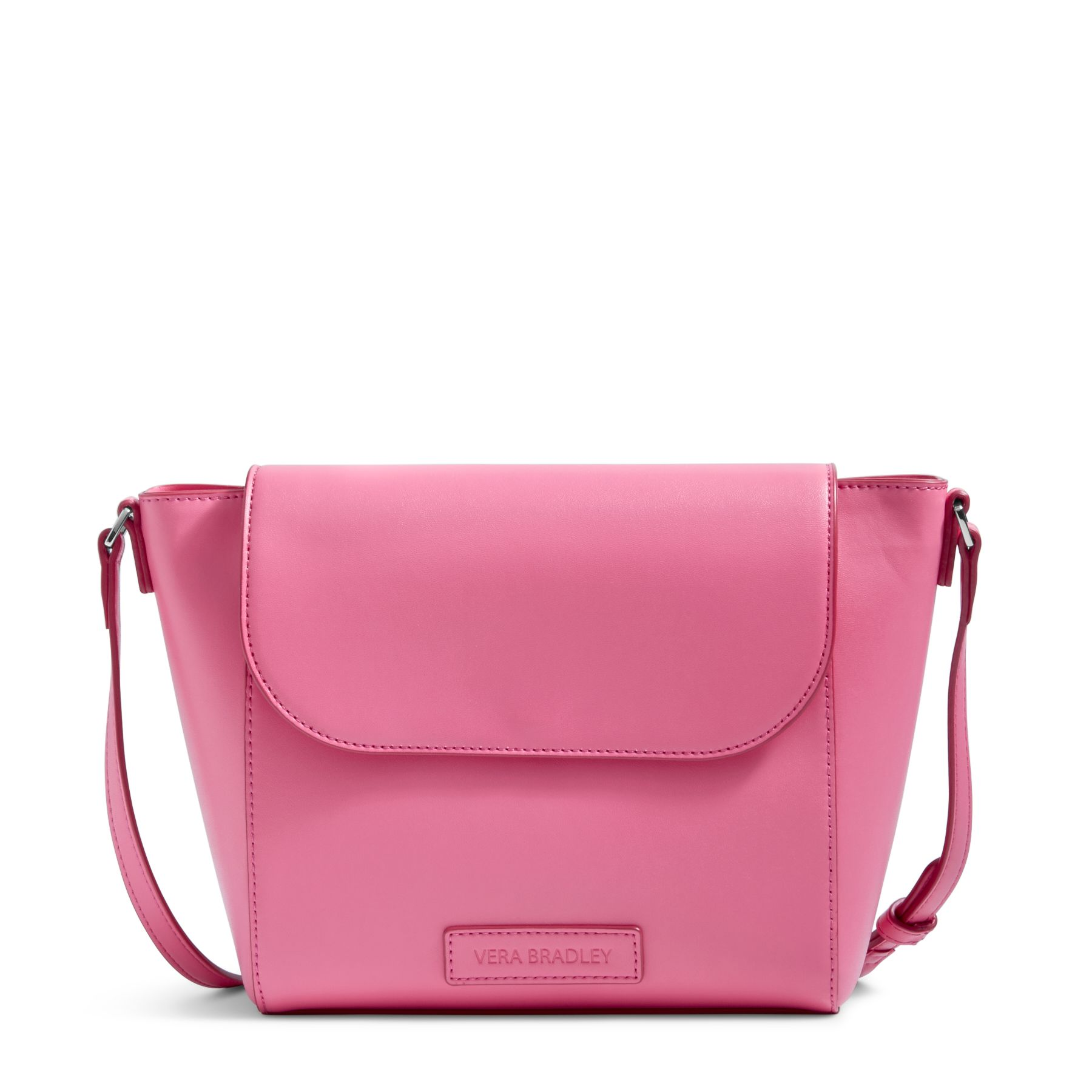 vera bradley faux leather flap crossbody bag ebay