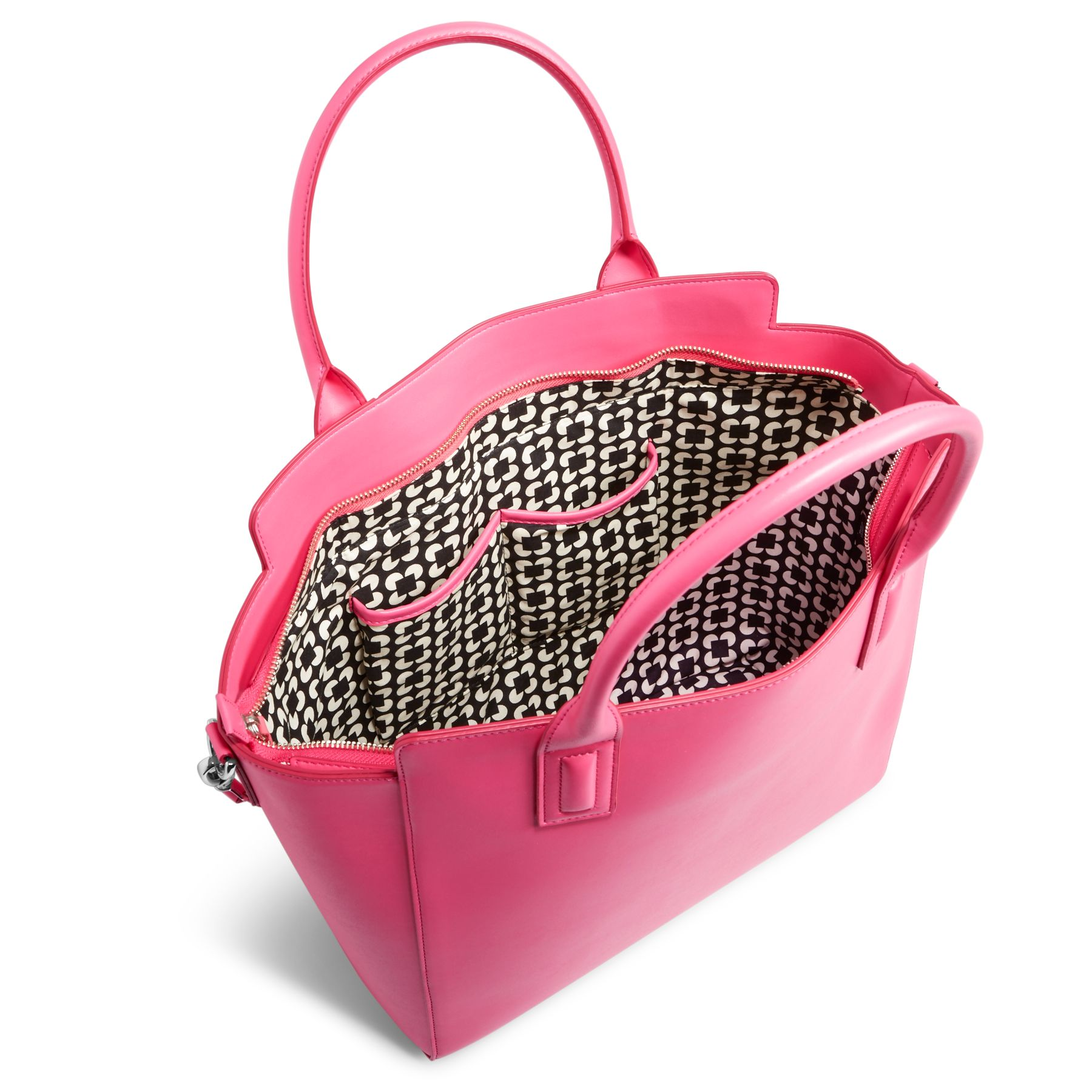 Vera Bradley Faux Leather Tote Bag