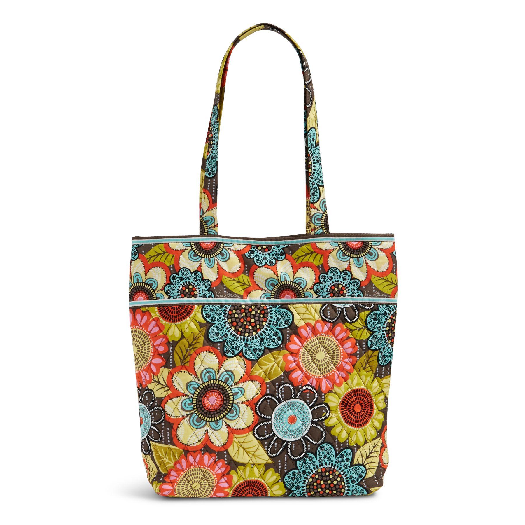 Vera Bradley Factory Exclusive Tote Bag (Multiple Colors)