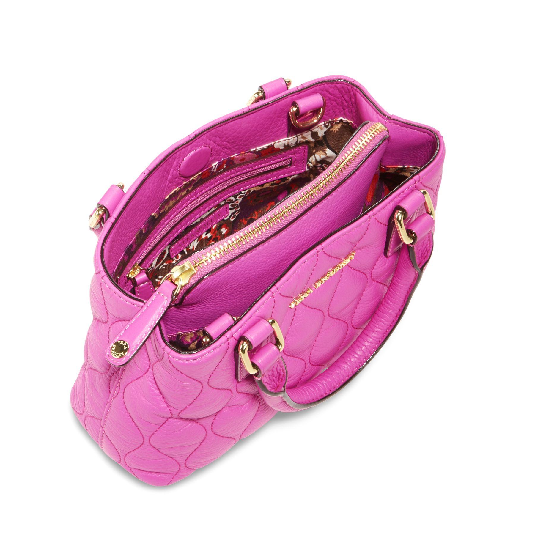 Vera Bradley Quilted Leather Emma Mini Crossbody Bag