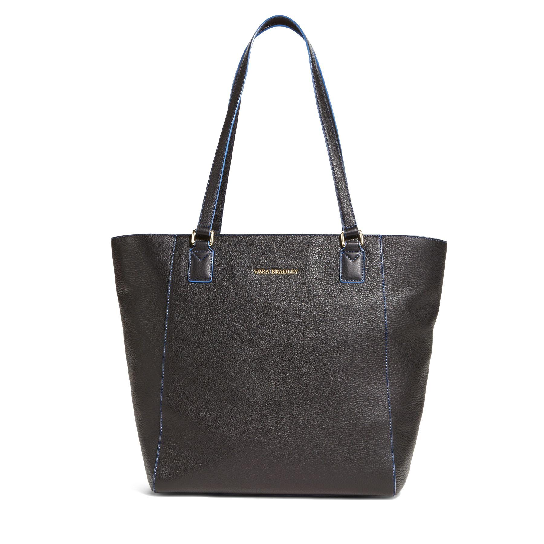 Vera Bradley Leather Ella Tote Bag Ebay