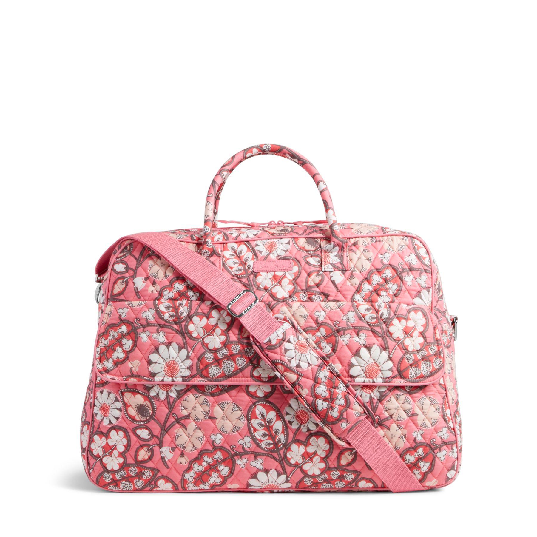 b914e49e99c3 886003351925. Vera Bradley Grand Traveler Travel Bag in Blush Pink. EAN-13  Barcode of UPC 886003369883