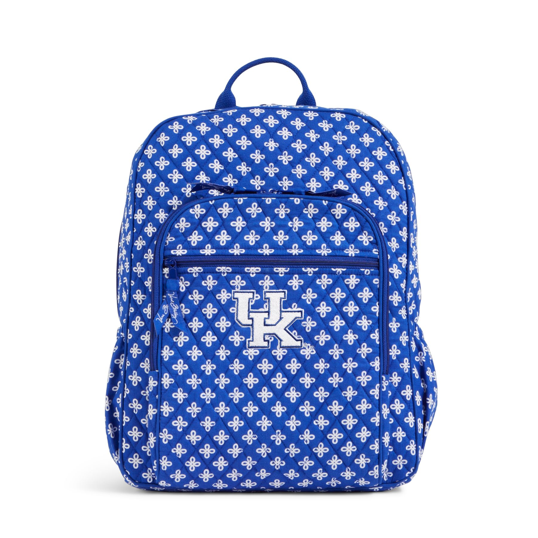 Vera Bradley Campus Backpack In Royal White Mini Concerto