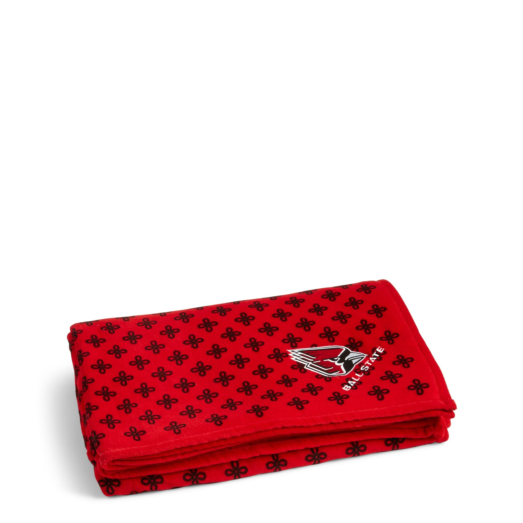 Vera Bradley Xl Throw Blanket In Red Black Mini Concerto