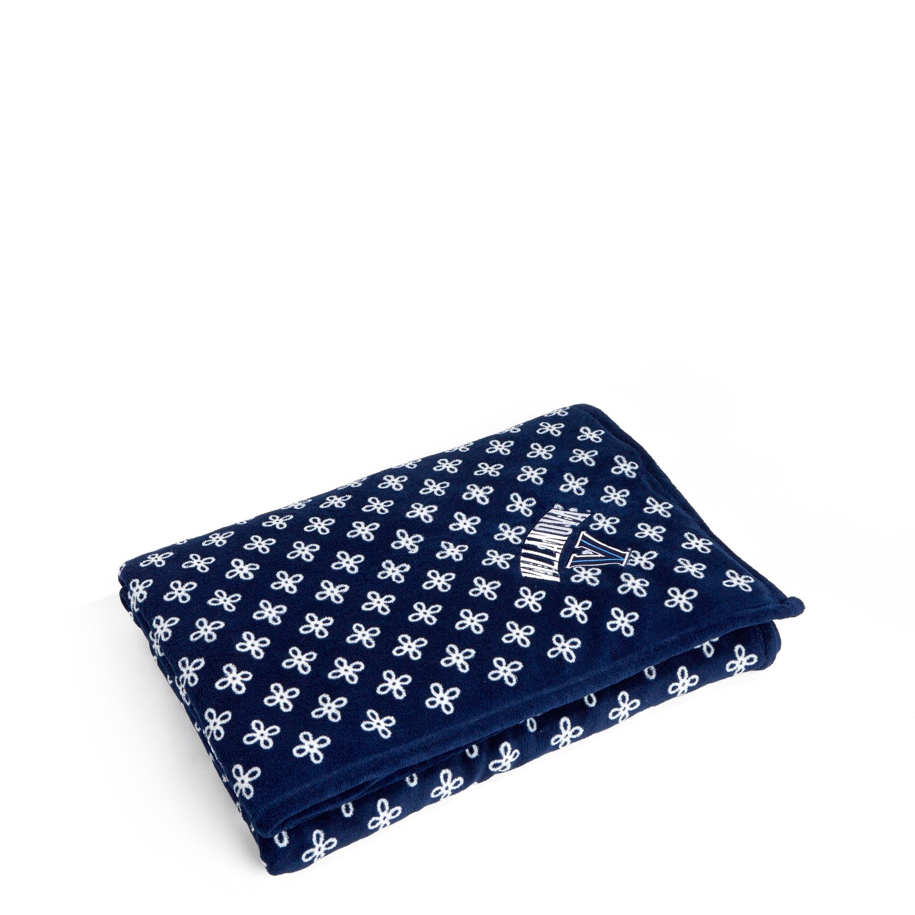Vera Bradley Xl Throw Blanket In Navy White Mini C 88