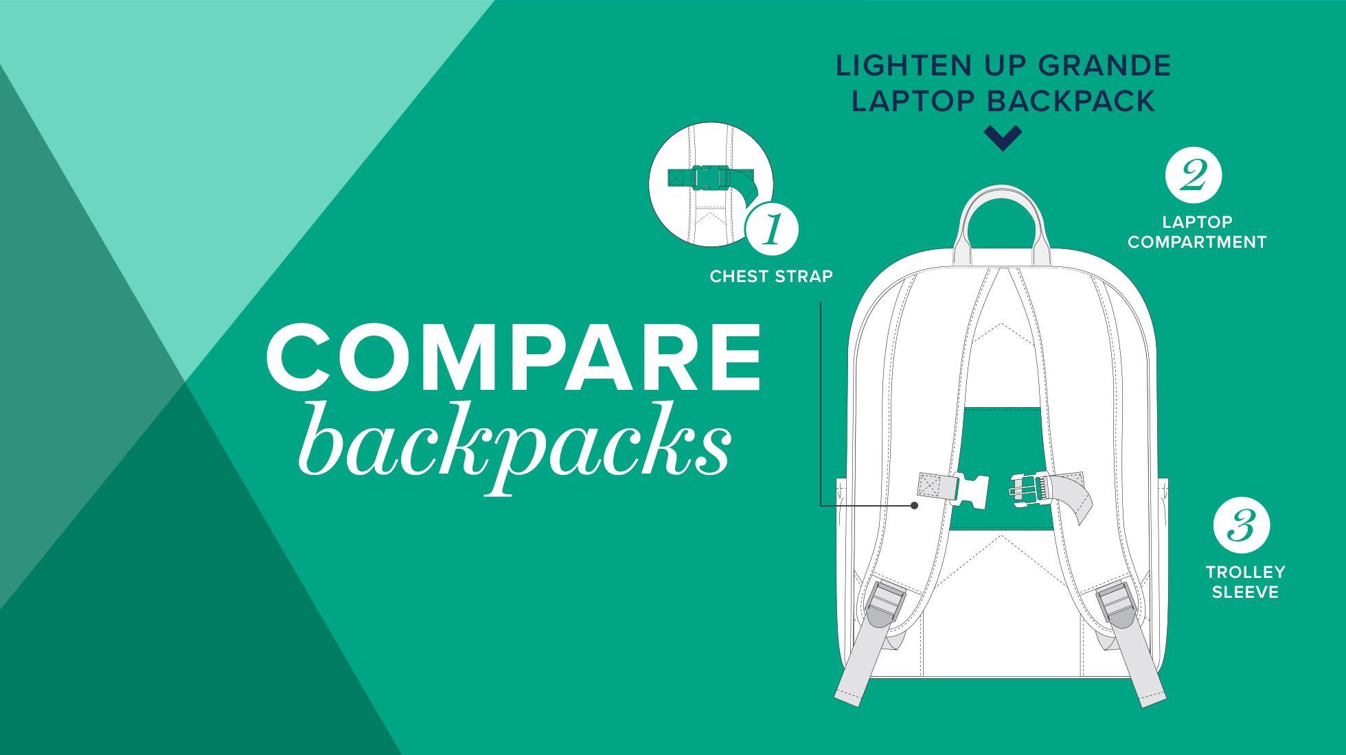 Lighten Up Grande Laptop Backpack
