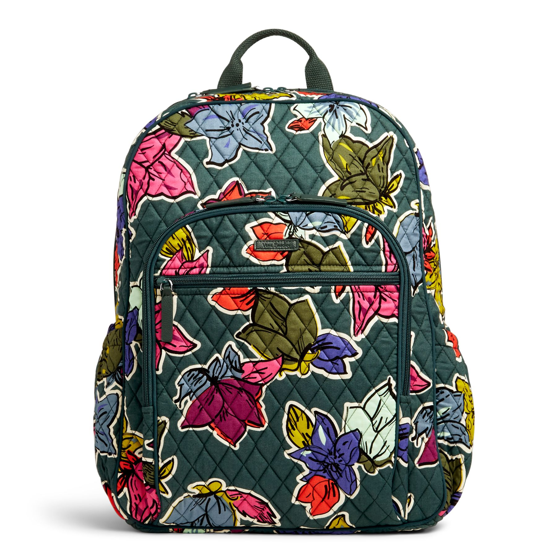 Vera Bradley レディース Backpack 送料無料 Espresso Campus Backpack 商品説明 Around campus or across the country make the journey more colorful with this comfortable backpack from Vera Bradley?