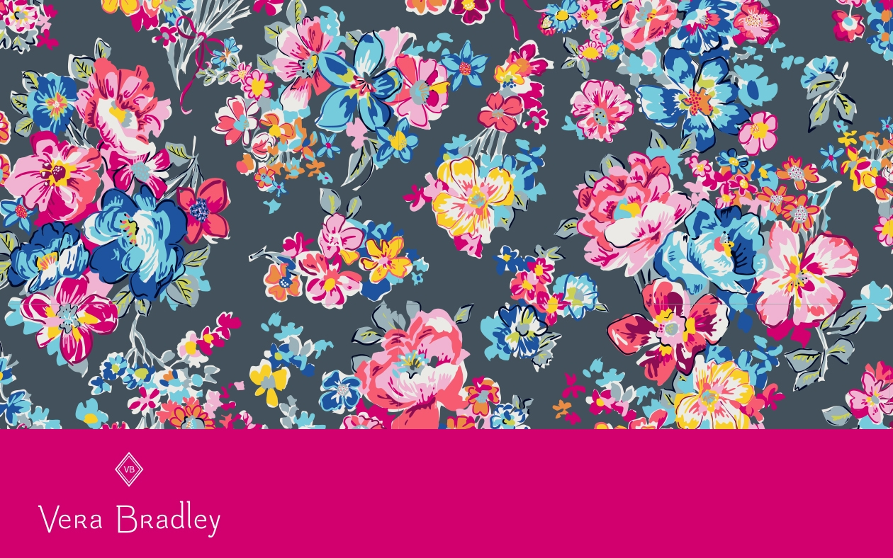 New Pattern Sneak Peek Pretty Posies Spring 2019 Vera Bradley Blog