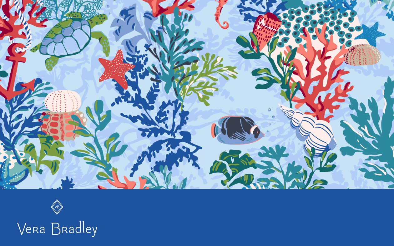 New Pattern Sneak Peek Shore Thing Spring 2019 Vera Bradley Blog