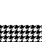 Midnight Houndstooth