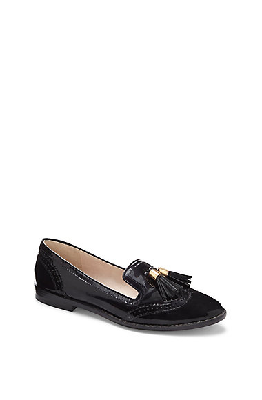 LOUISE ET CIE JOEY- WING TIP SLIP ON LOAFER