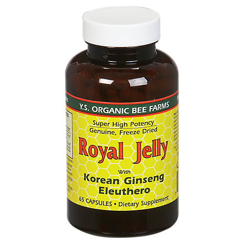 Royal Jelly with Korean Ginseng Eleuthero