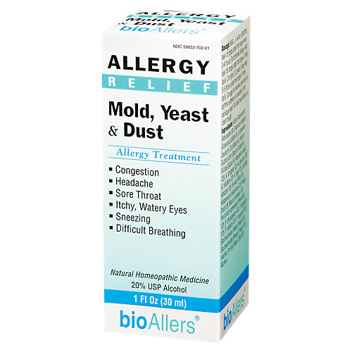 Allergy Relief Mold/Yeast/Dust