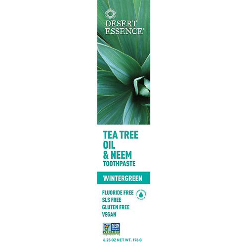 Tea Tree Oil And Neem Toothpaste