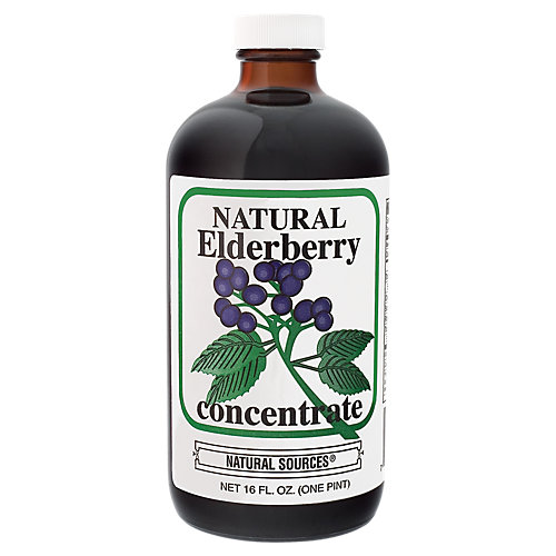 Natural Elderberry Concentrate