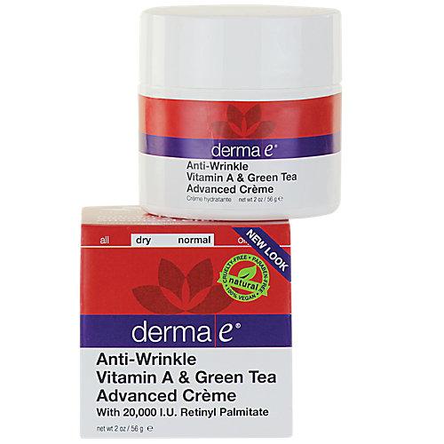 AntiWrinkle Vitamin A Green Tea Advanced Creme