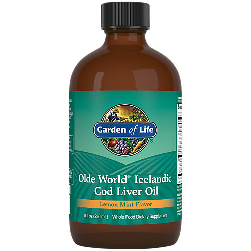 Garden Of Life Olde World Cod Liver Oil 8 Oz Price Tracking