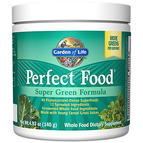 658010111546 Upc Garden Of Life Perfect Food Green Label 140 Upc Lookup