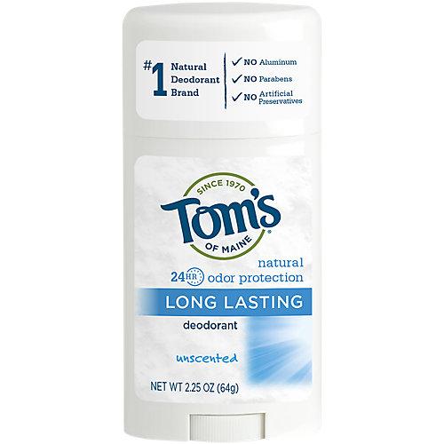 Unscented Longlasting Stick Deodorant