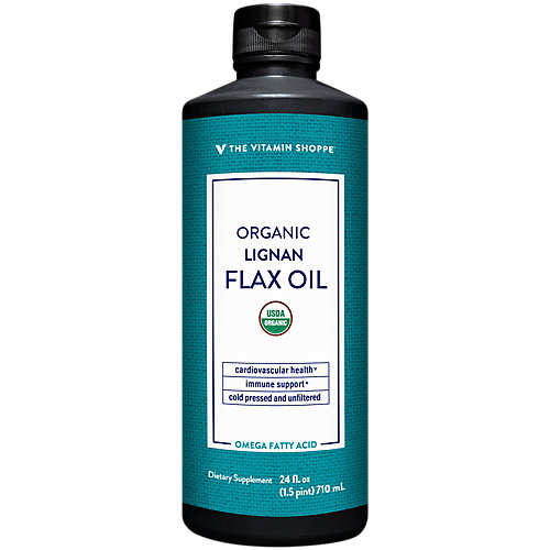 Organic Flax Oil With High Lignans