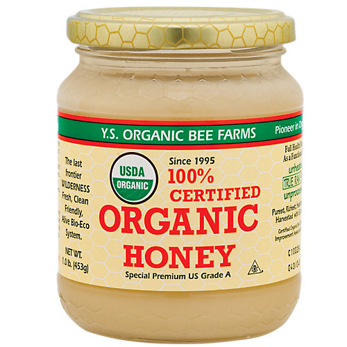 Certified Organic Raw Honey
