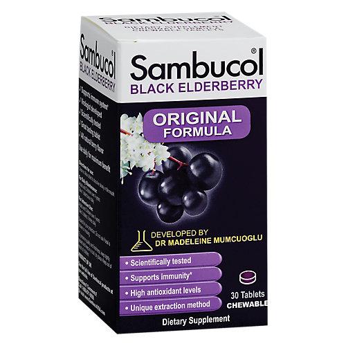 Sambucol Black Elderberry Original Chewable