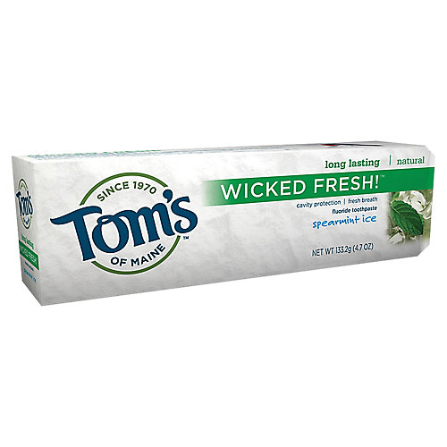 Toms Wicked Fresh Fluoride Toothpaste