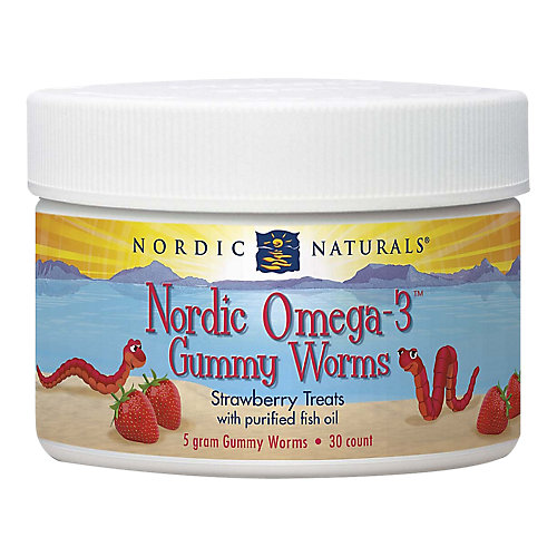 Nordic Omega3 Gummy Worms