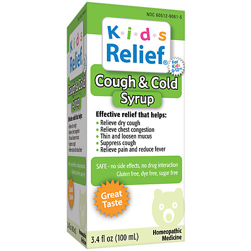 Kids Relief Cough N Cold