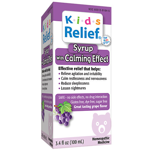 Kids Relief Syrup With Calming Effect