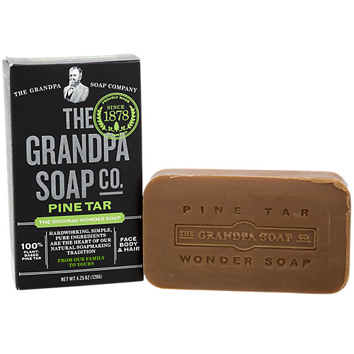 Grandpas Brands Pine Tar - 4.25 oz Bar Soap | eBay