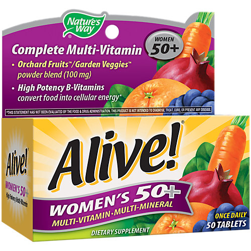 Nature S Way Alive Vitamin Shoppe Women S